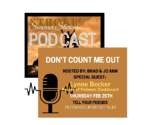 Don't Count Me Out podcast logo